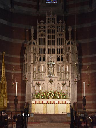 the High Altar before the Mas