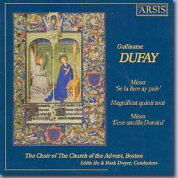 cover of Dufay CD