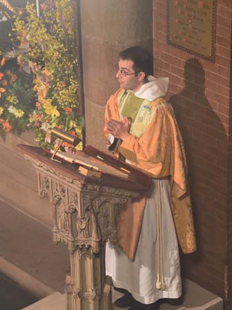 the Epistle at the Mass