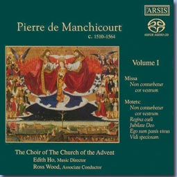 cover of Manchicourt vol 1 CD