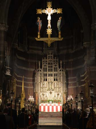 the High Altar at Midnight Mass